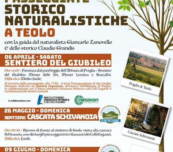 Passeggiata storico-naturalistica: Cascata Schivanoia